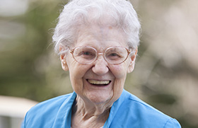 Nehalem Valley Care Center resident