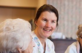 Nehalem Valley Care Center staff member
